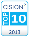 2013-Top-10-Cision-Blog-Badge