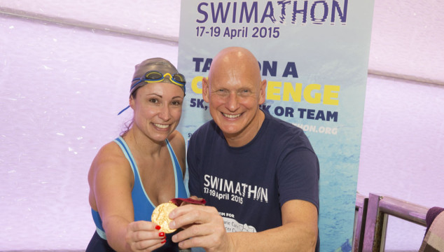 #Swimathon15 Training Session with the Legendary Duncan Goodhew