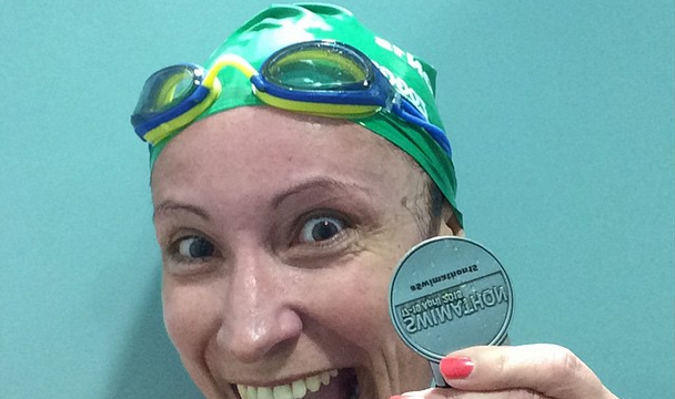 I did it again! I swam #2.5km #swimathon15 #blogsquad
