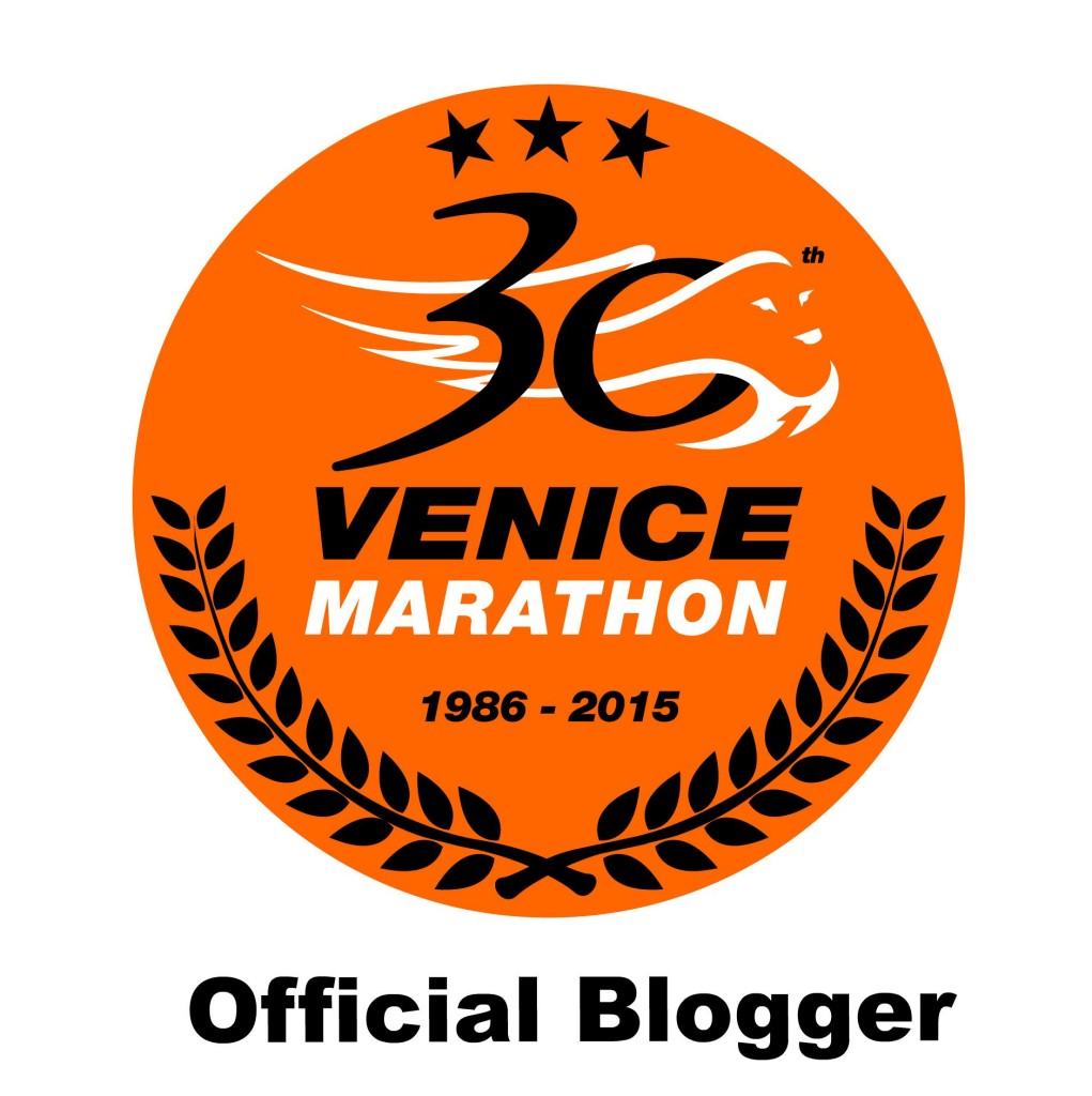 official Venice Marathon blogger
