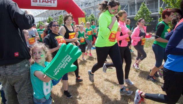 Macmillan Launches 'Young Rushers' Obstacle Race 4 Kids