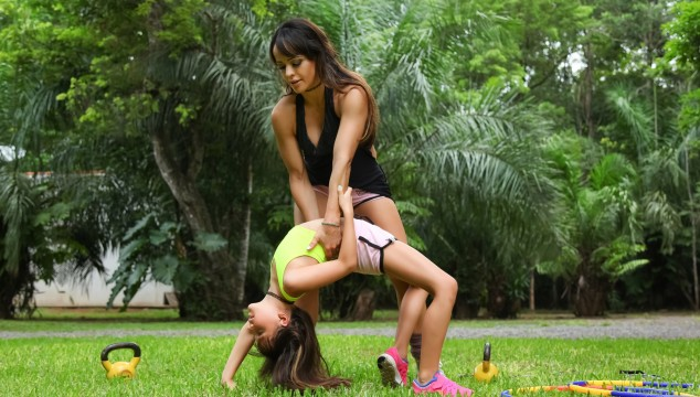 Personal Training for Mothers & Daughters with a Brazilian Flair #FitnessTuesday