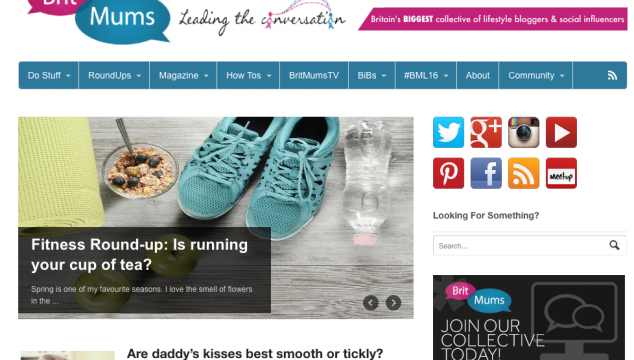 Becoming Britmums Fitness Round-up Editor #FitnessTuesday