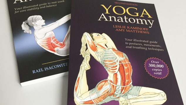 Strengthen Your Core with Pilates & Yoga Anatomy Books #FitnessTuesday