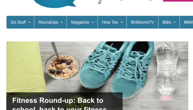 Britmums Fitness Round-up: Back to School, Back to Your Fitness Routines