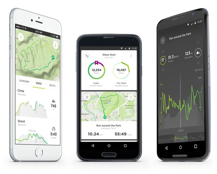 ALL YOUR INSIGHTS IN THE NEW TOMTOM MY SPORTS APP