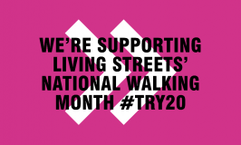 Lace up for National Walking Month MAY 2017 #TRY20