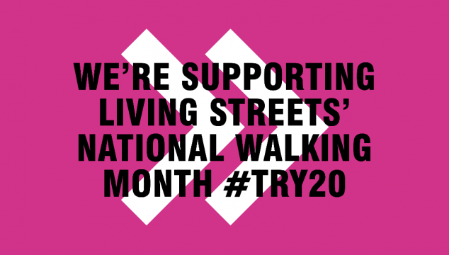 Lace up for National Walking Month #TRY20