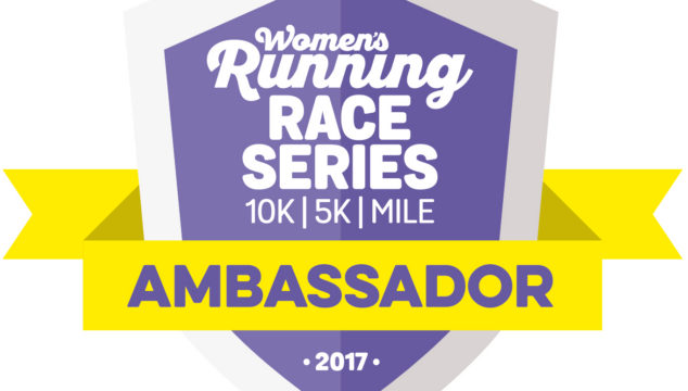 Becoming Women's Running Race Series Ambassador 2017