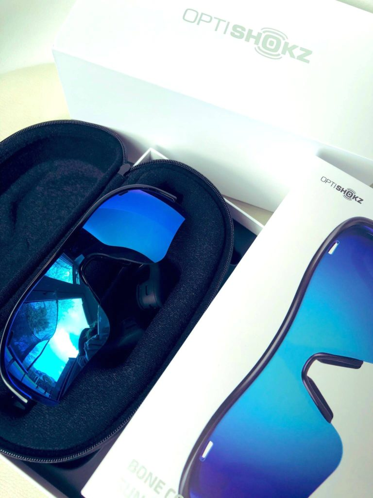 OptiShokz Revvez in a box