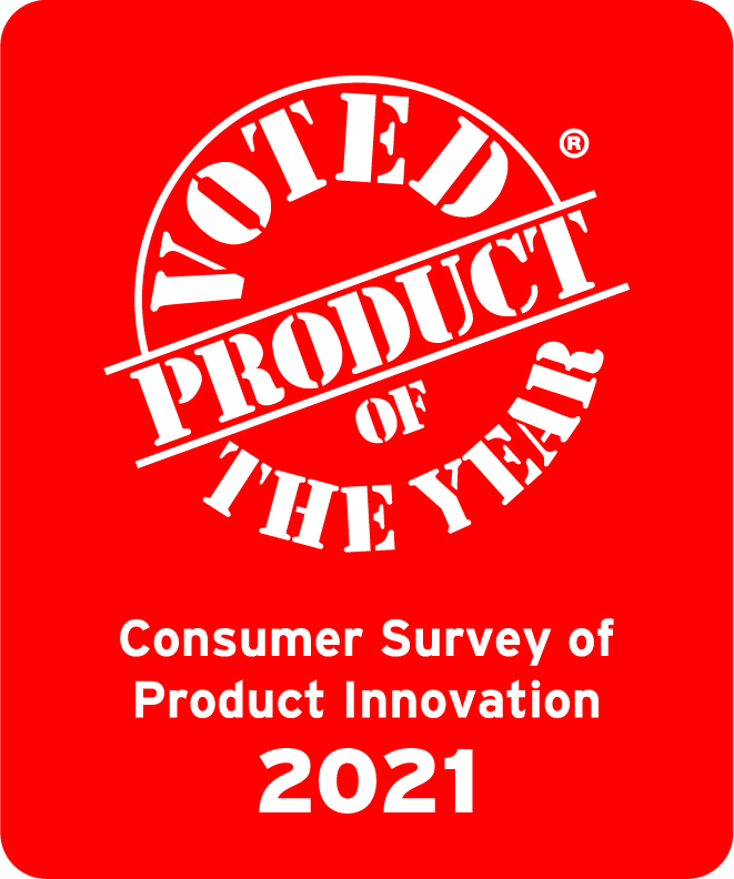 Product of the Year 2021 logo